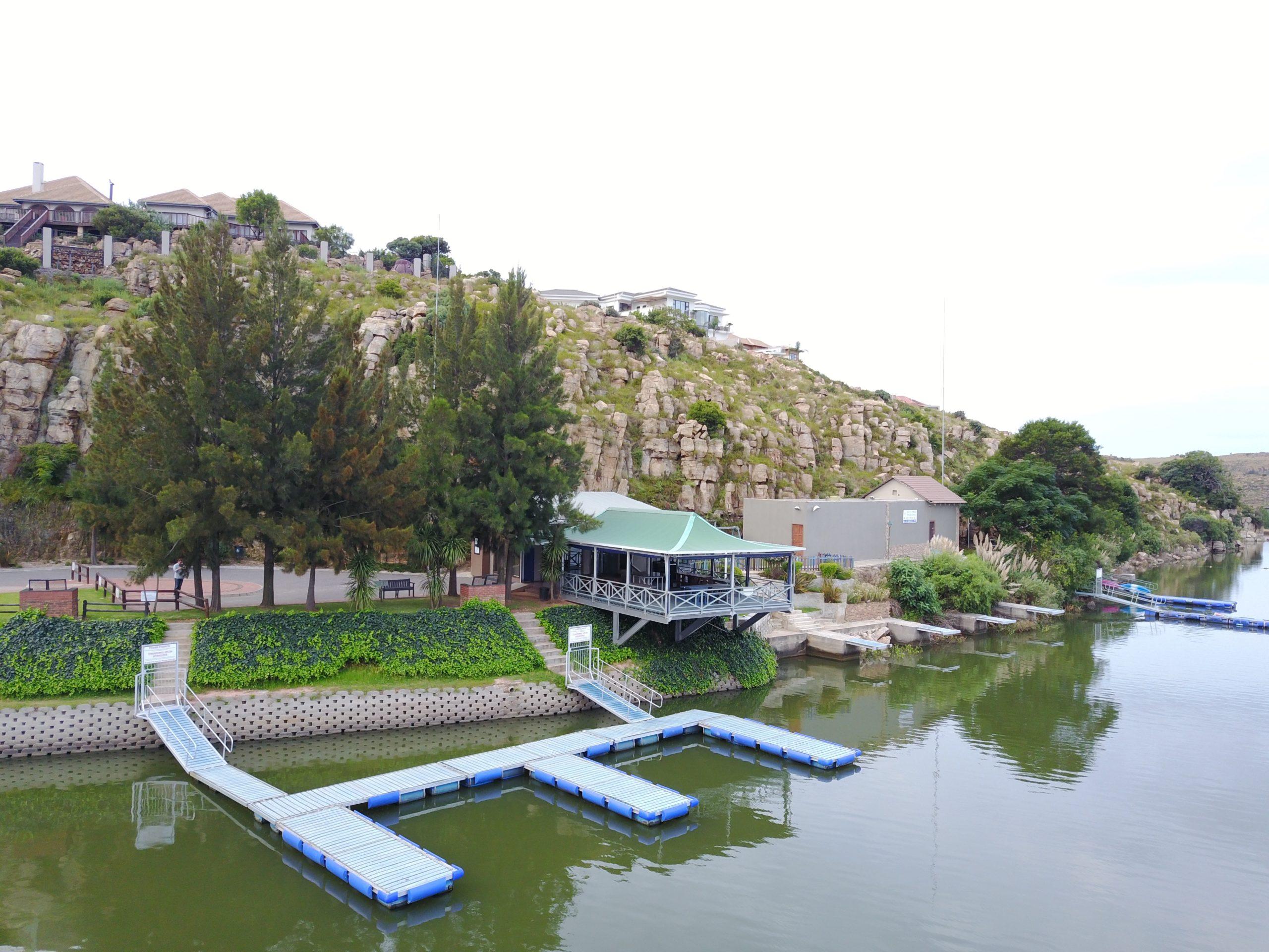 jetty at aqua vista mountain estate for boats